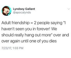 adult friendships